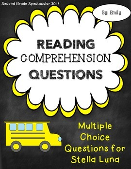 Stellaluna Comprehension Questions