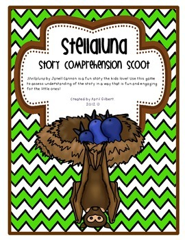 Stellaluna Comprehension Scoot!