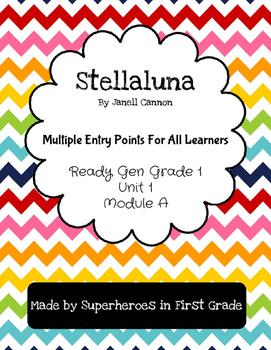 Stellaluna Differentiated Activities - Grade 1 Ready Gen Unit 1 Module A