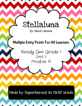 Stellaluna Differentiated Activities - Grade 1 Ready Gen U