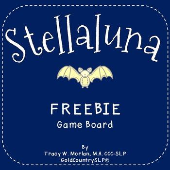 Stellaluna Game Board FREEBIE