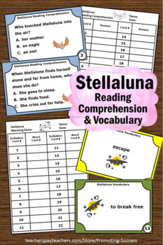 Stellaluna Questions, Halloween Book Activities, Stellaluna Activities