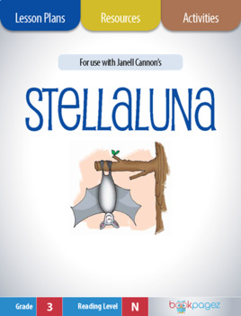 Stellaluna Lesson Plans & Activities Package, Third Grade (CCSS)