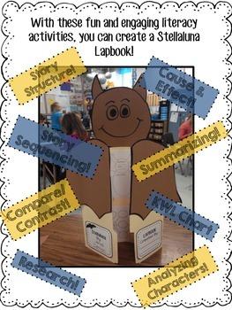 Stellaluna Literacy Activities & Lapbook Project
