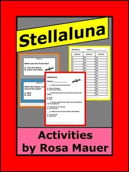 Stellaluna Literacy Unit