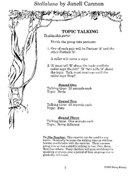 Stellaluna Literature Guide