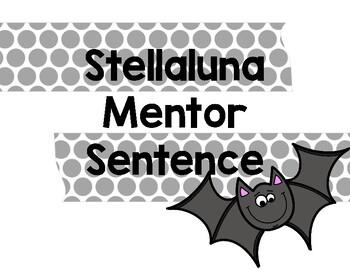 Stellaluna Mentor Sentence