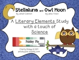 SCIENCE: 'Stellaluna' & 'Owl Moon' Literary Elements & Science Unit