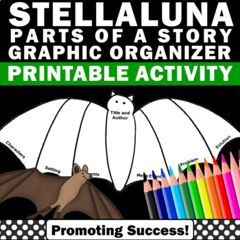 Stellaluna Graphic Organizer for Parts of a Story Elements
