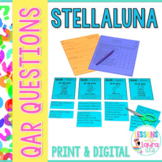 Stellaluna QAR Comprehension Questions with QAR Poster