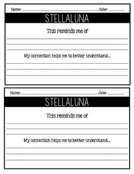 Stellaluna / Read-Aloud Book Companion
