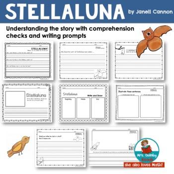 Stellaluna | Reader Response Pages | Book Companion | Children's Literature