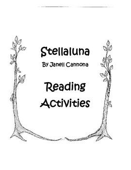 Stellaluna Reading Acivities