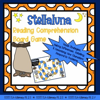 Stellaluna: Reading Comprehension Board Game