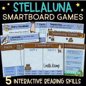 Stellaluna Interactive Whiteboard -SMARTboard Activities