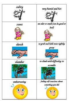 Stellaluna Spelling/ Vocabulary List and Activities (Bats Unit)
