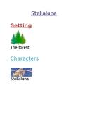 Stellaluna Story Map Cards