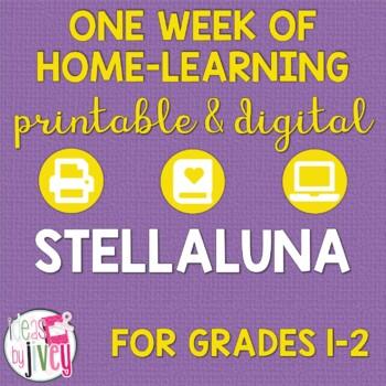 Stellaluna: Week of ELA Activities for Distance Learning (Grades 1-2)
