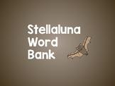 Stellaluna Word Bank