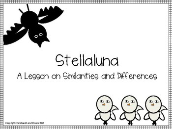 Stellaluna Text Complexity Lesson Plan and activity