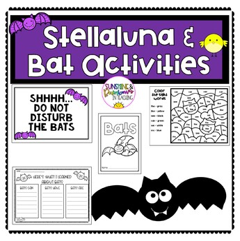 Stellaluna and Bat Activities