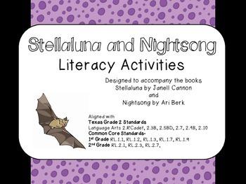 Stellaluna and Nightsong Literacy Activities