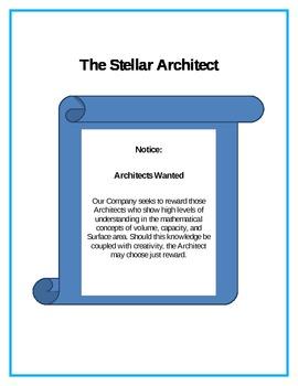 Stellar Architect Grade 6- Volume, Capacity, Surface Area