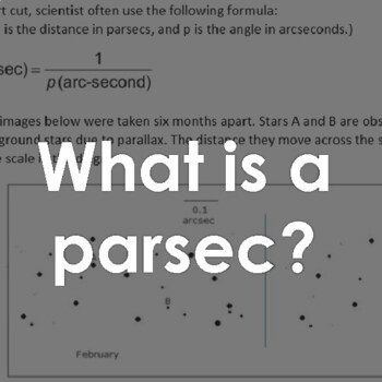 Stellar Distances and Parallax (Activity)