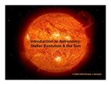 Stellar Evolution & the Sun