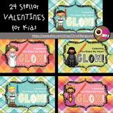 Stellar Valentine's Cards for Kids
