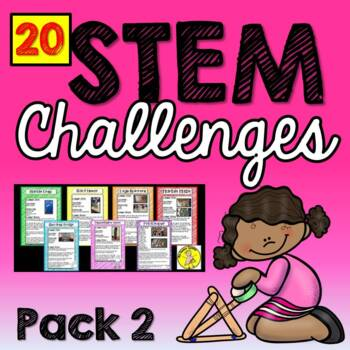 STEM Activities (20 Challenges) Pack 2