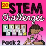 At Home Learning STEM (20 Challenges) Pack 2