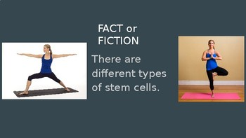 Stem Cells Fact or Fiction (game/notes)