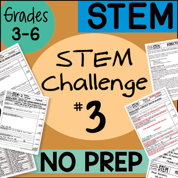 Stem Challenge #3 by Science and Math Doodles