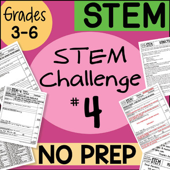 Stem Challenge #4 by Science and Math Doodles