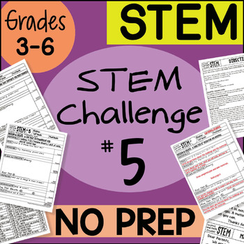 STEM Challenge #5 by Science and Math Doodles