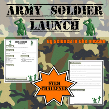 Stem Challenge:  Army Soldier Launch