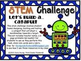 Stem Challenge: Let's Build A Catapult