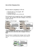 Stem-Changing Introduction Handout