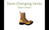 Stem Changing Verb PowerPoint