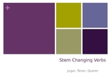 Stem Changing Verbs Power Point