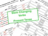 Stem Changing Verbs - Present Tense (jugar, poder, querer, pedir)