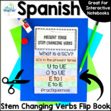 Stem Changing Verbs Spanish Interactive Flip Book