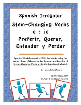 Stem - Changing Verbs e:ie
