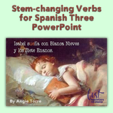 Stem-Changing Verbs for Spanish Three PowerPoint