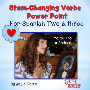 Stem-Changing Verbs for Spanish Two and Three PowerPoint