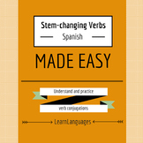 Stem-Changing Verbs in the Present Tense - Made Easy
