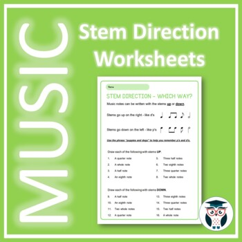 Music Theory: Stem Direction - Which Way?