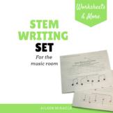 Stem Writing Set