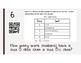 Stem and Leaf Plot - A QR Code Activity